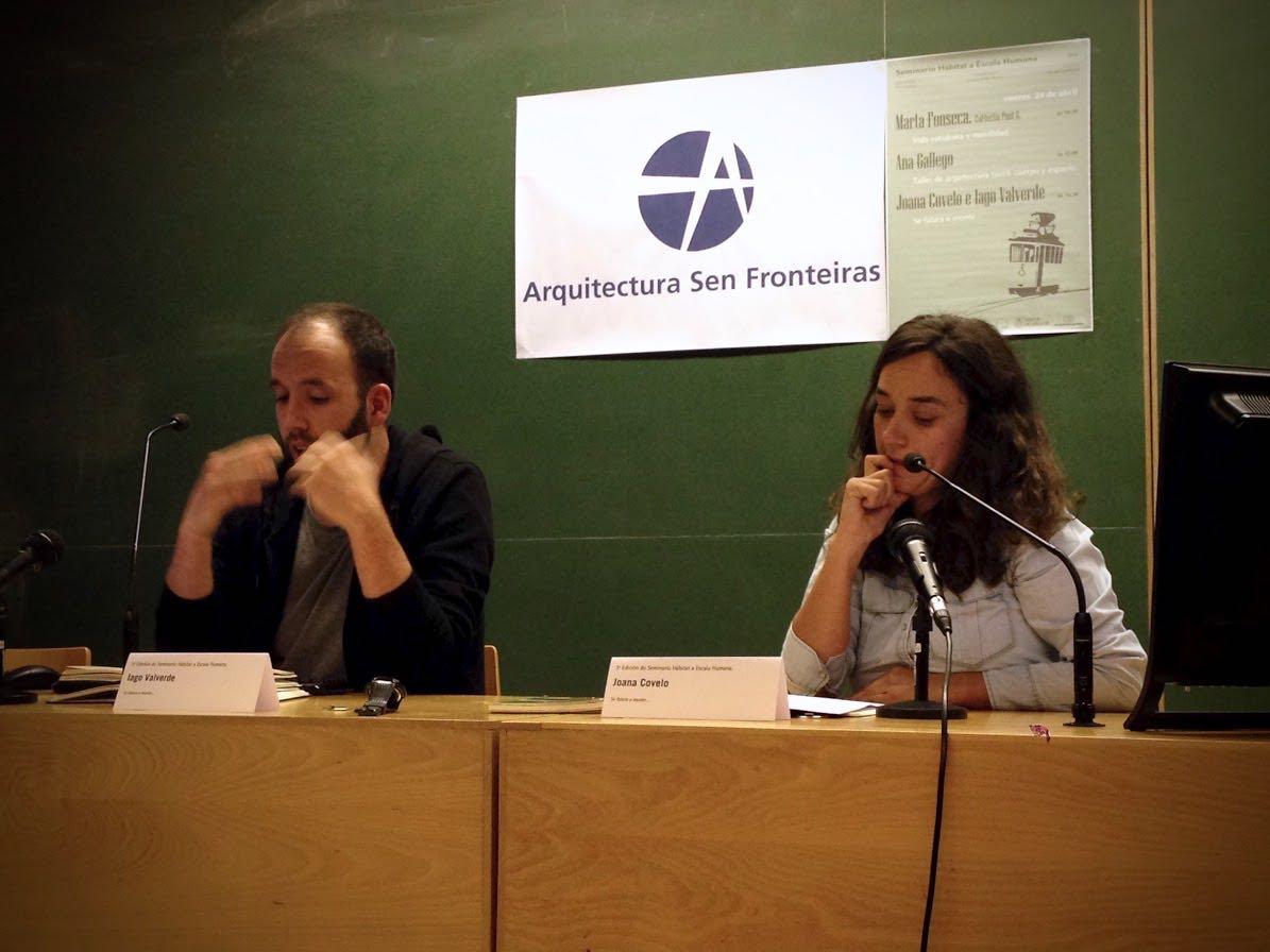 Seminario Hábitat a Escala Humana 2015 sesión 2: Iago Valverde y Joana Covelo