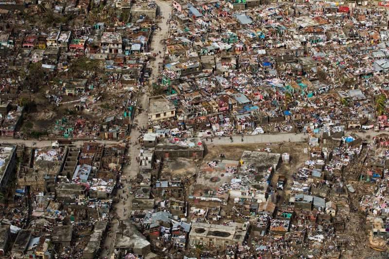 Haiti tras o huracán Matthew