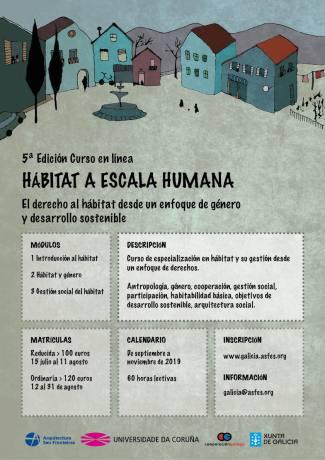 5ª Edición Curso Hábitat a Escala Humana