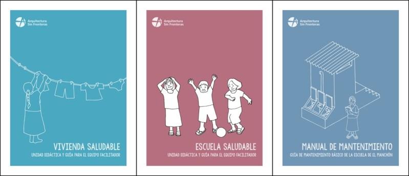 Vivenda Saludable, Escuela Saludable e Manual de Mantenimiento de la Escuela del Manchón nuevas publicaciones de ASF Galicia