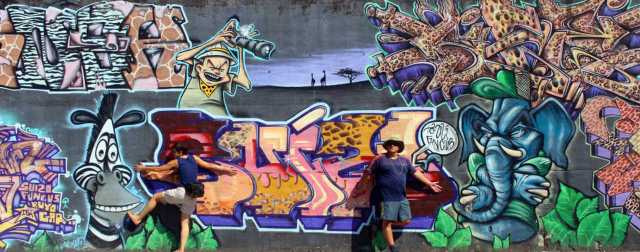 graffiti em Betanzos