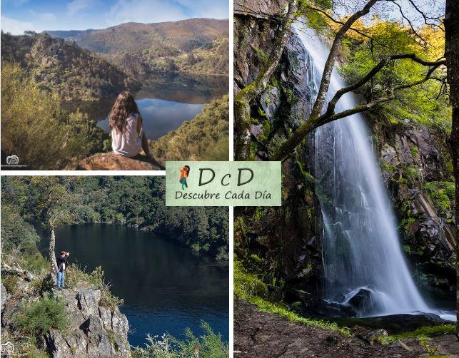 La fervenza de Auga Caída es una de las más espectaculares de Galicia!