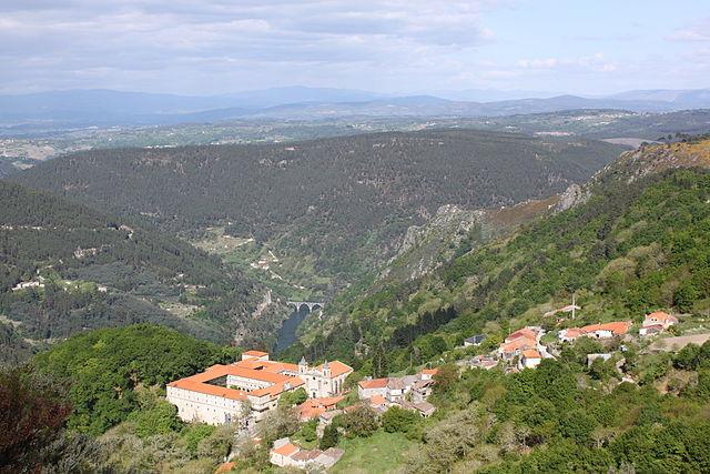Monasterio Santo Estevo de Ribas de Sil