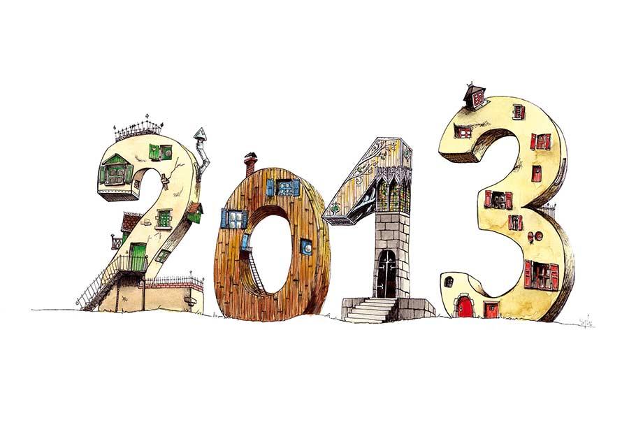 carte de vœux 2013