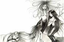 «Lila chez les anges» – (projet non édité)
