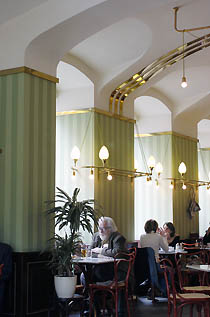 Caf Museum Vienna by Adolf Loos