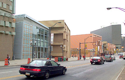 Greater Columbus Convention Center by Peter Eisenman with