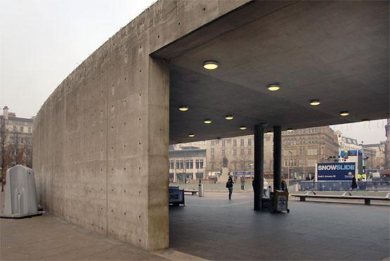 concrete pavilion by Tadao Ando