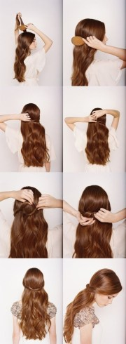easy diy hairstyles medium
