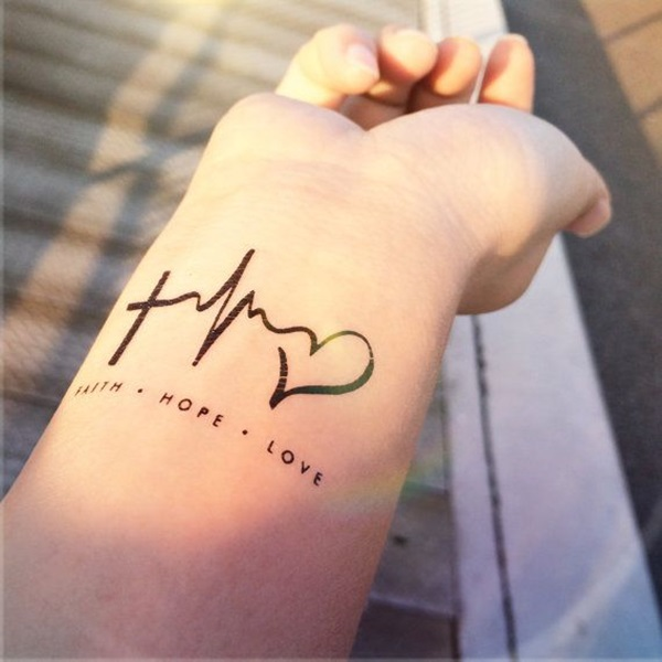 Simple Wrist Tattoo Designs For Girls