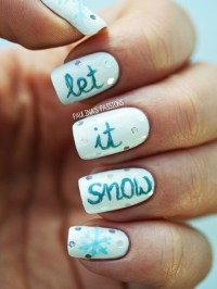 101 Simple Winter Nail Art Ideas for Short Nails