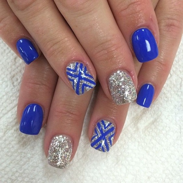 View Images Simple Winter Nail Art Ideas For Short Nails