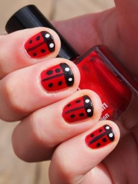 "101 Splendid Red Nail Art Designs to say ""I'm HOT"""