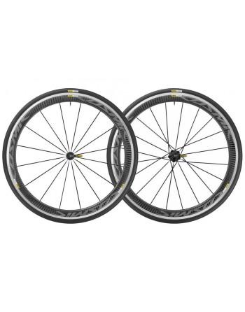 Mavic Cosmic Pro Carbon Wheelset Black Hub Fitment Shimano