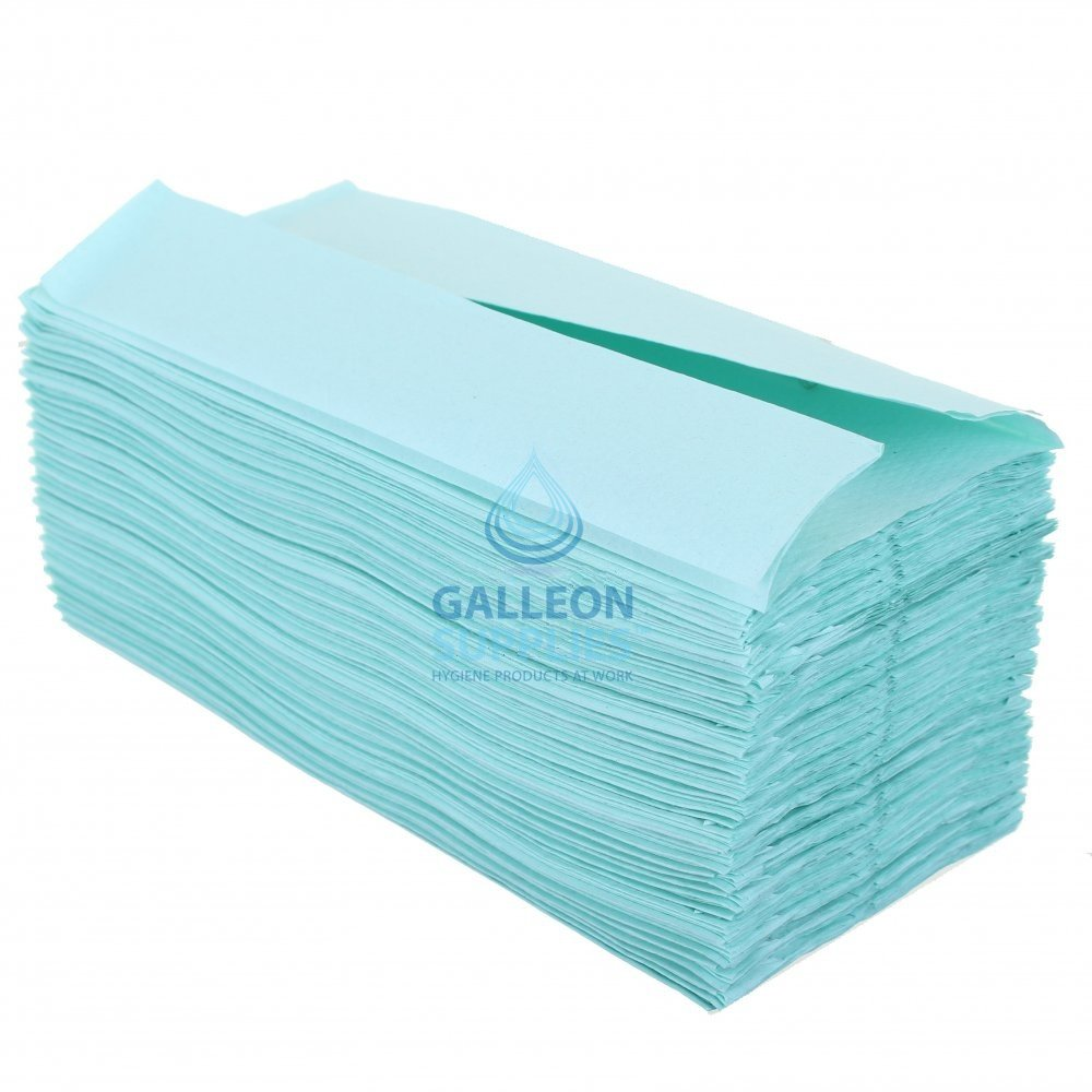 Kimberly Clark 1 Ply  Green  CFold  Paper Hand Towels