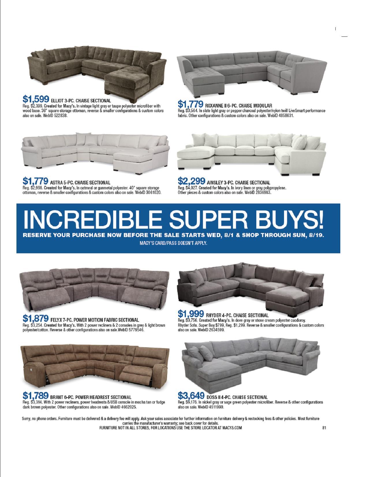 furniture and mattress sale galleria