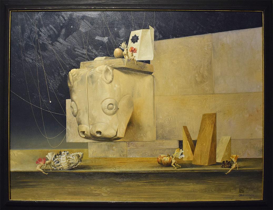 Works for sale by Renzo Galardini among Galleria Gagliardi San Gimignano
