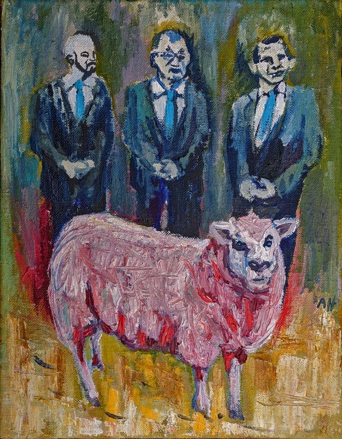 Aulis Harmaala: Optimistic Red Sheep, 2018