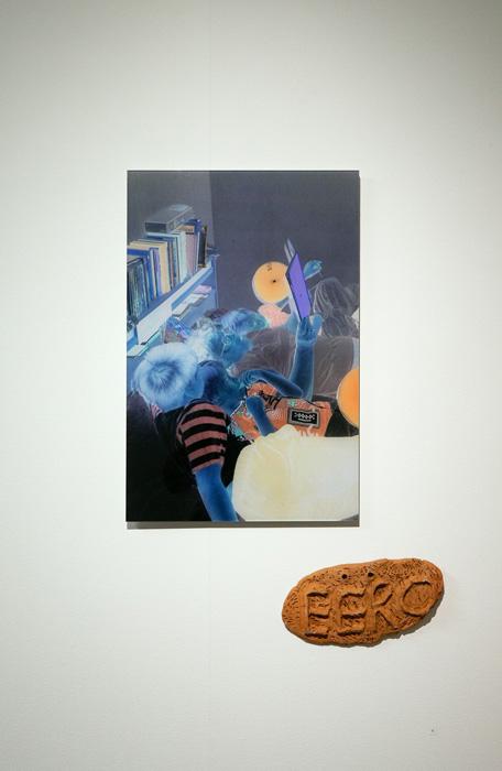 Eero Yrjölä: Storytime in blueberry; Photograph: Salla Keskinen