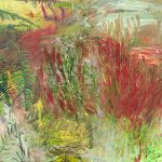 Johanna Sipilä: Sydän innoissaan (Heart Excited), öljy kankaalle (oil on canvas), 59 x 71 cm, 2019
