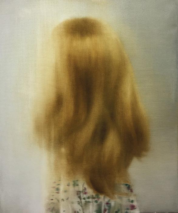 Leonor Ruiz Dubrovin, Untitled, oil on canvas, 65 x 54 cm, 2021