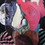 Media Poet (acrylic and oil, 2016)