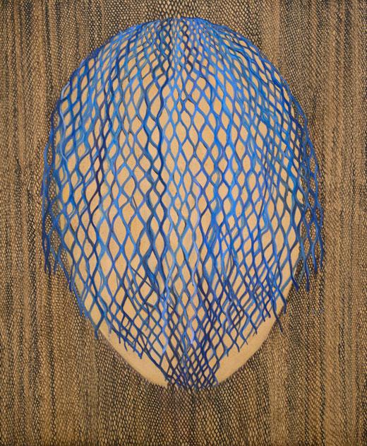 Decisively parasympathetic, 2017, oil, 122 x 101 cm