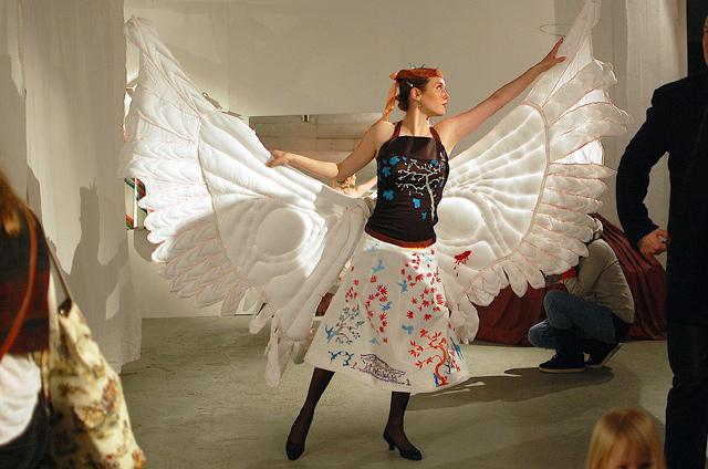 Beata Joutsen & Anna heikkilä: Cherry Orchard / Pauliina Turakka Purhonen: Wounded Wings