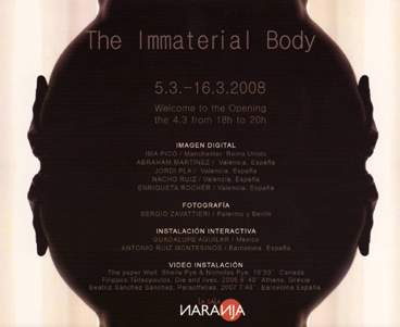 The Immaterial Body
