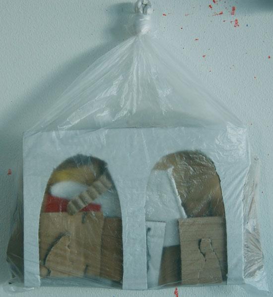 Johannes Kangas: Annunciazione muovipussissa