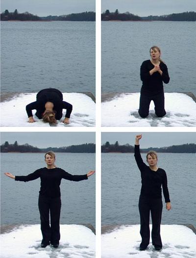 Synnöve Rabb, Position/ Asento / Position, video 2006
