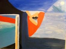 Seasonal Fantasies - Acrylic on Canvas 30 x 40 inches
