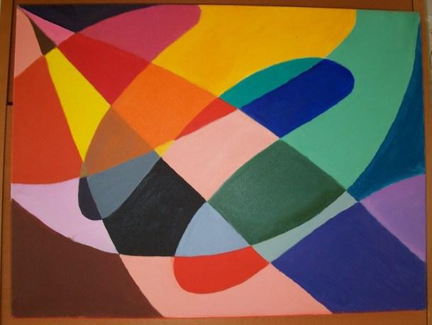 Vortex II - Acrylic 20 x 20 inches