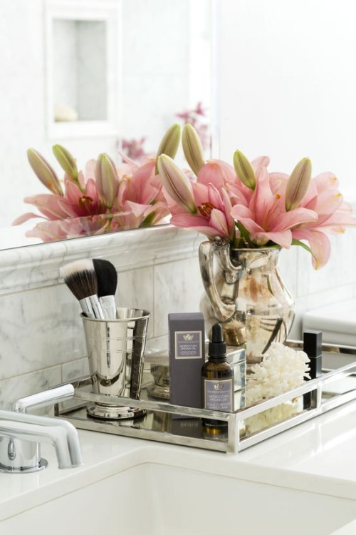 A place to pamper. Gallerie B blog.