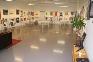 det ene rommet i galleriet, foto