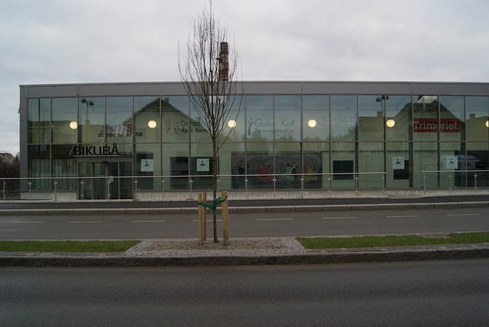 fasade bikubå, foto
