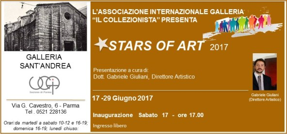 Stars of Art - Galleria Sant'Andrea - Parma