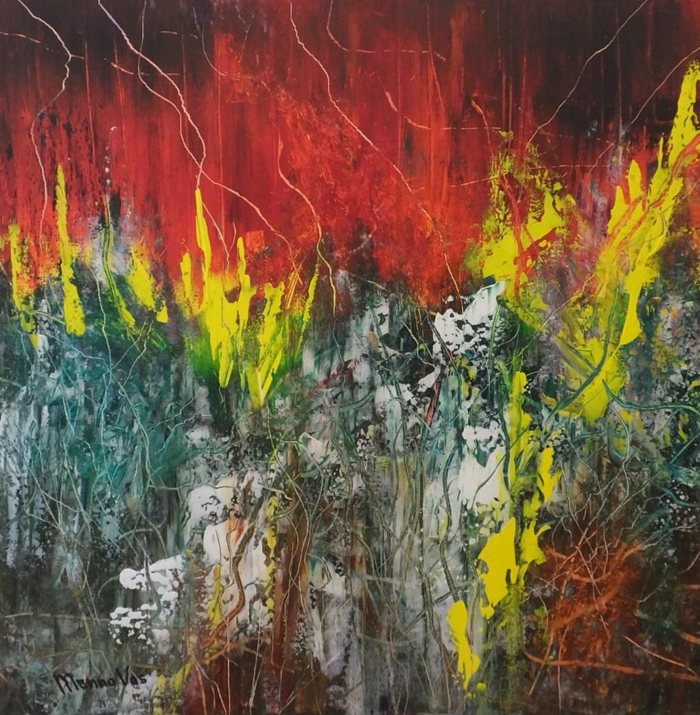 Acrylic on canvas 11-05-17 (100 x 100 cm)