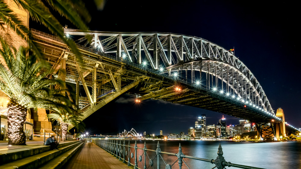 Sydney Harbour Bridge and Opera House House by Matt Dobson