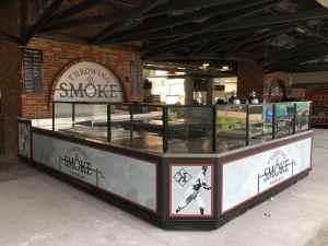 Custom Food And Beverage Kiosks Kiosk Venues Food Beverage Progressive Field Cleveland Ohio 1