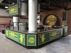 Custom Food And Beverage Kiosks Kiosk Venues Food Beverage Progressive Field Cleveland Ohio 5