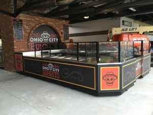 Custom Food And Beverage Kiosks Kiosk Venues Food Beverage Progressive Field Cleveland Ohio 6