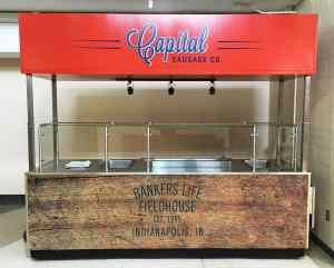 Arena Hot Food Cart MobileCart Venues Food Bankers Life Fieldhouse Indianapolis Indiana 2
