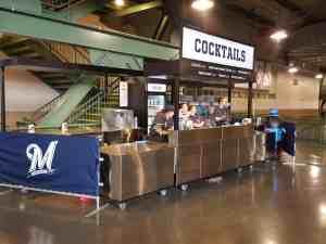 Ball Park Bar Carts Venues Beverage Miller Park Milwaukee Wisconsin 7