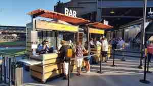 Ballpark Food Beverage Kiosk Mobile Cart Venues Food Las Vegas Ballpark Summerlin Nevada 2