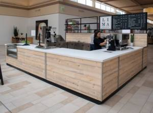 Custom Mall Coffee Kiosk Campuses Convention Centers Airports Healthcare Food Foothill Malls Fort Collins Colorado 3