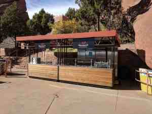 Food And Bar Kiosks Venues Food Red Rocks Amphitheater Morrison Colorado 4