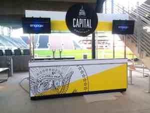 Soccer Stadium Food Beverage Carts Venues Audi Field Washington DC 1