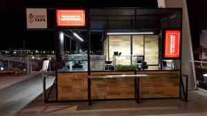 Stadium Concourse Bar Kiosk Venues Beverage Levi Stadium SantaClara California 3