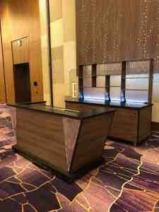 Stadium Mobile Bar Cart Venues Campuses Convention Centers Food Beverage HighEnd Vidara Hotel Las Vegas Nevada 3